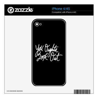 YOLO by Love Me iPhone 4S Decal