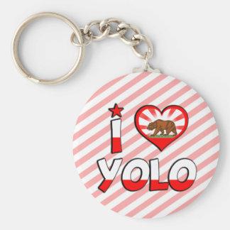 Yolo, CA Keychains
