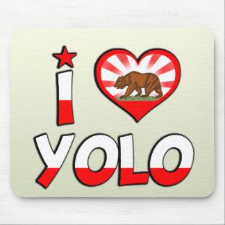 Yolo, CA Mousepad