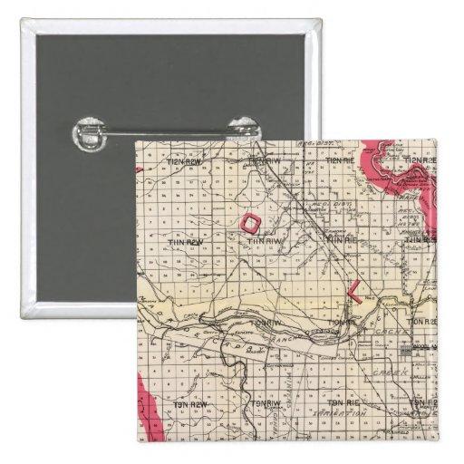 Yolo County, California Button