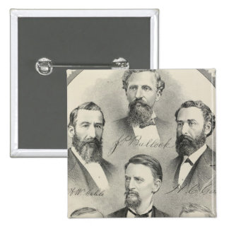 Yolo County lithographed portraits Button
