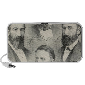 Yolo County lithographed portraits PC Speakers