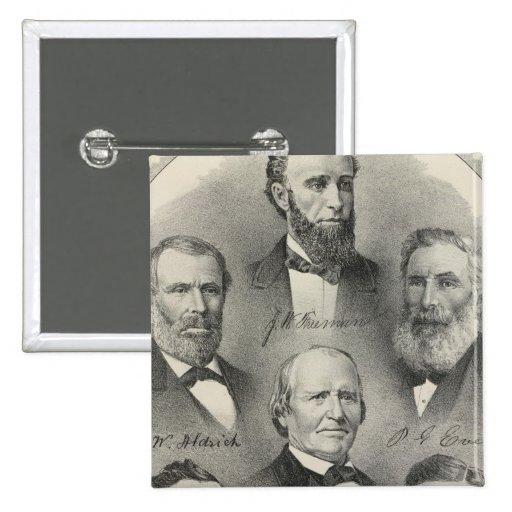 Yolo County portraits 2 Inch Square Button