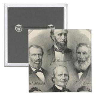 Yolo County portraits Pinback Button