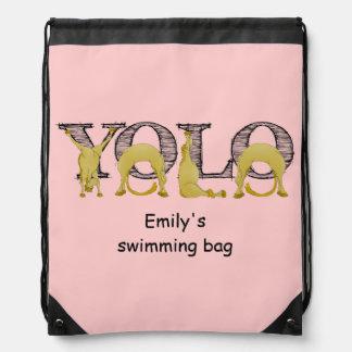 YOLO flexi pony Cinch Bags