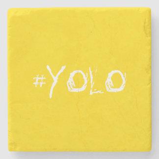#YOLO STONE BEVERAGE COASTER