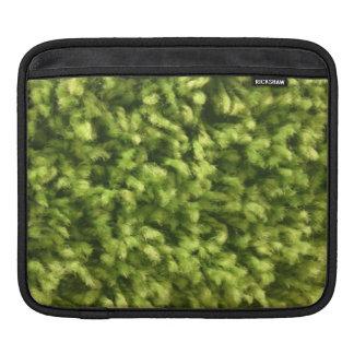 Yolo Green Shag Carpet iPad Sleeve