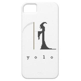 yolo Grim Reaper Pixel Art iPhone SE/5/5s Case