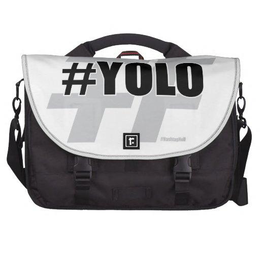 YOLO Hashtag Bolsas De Portátil