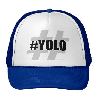 YOLO Hashtag Gorras