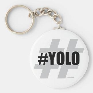 YOLO Hashtag Llavero Personalizado