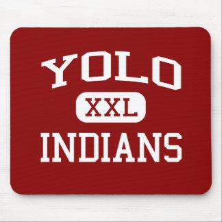 Yolo - Indians - Continuation - West Sacramento Mouse Pad