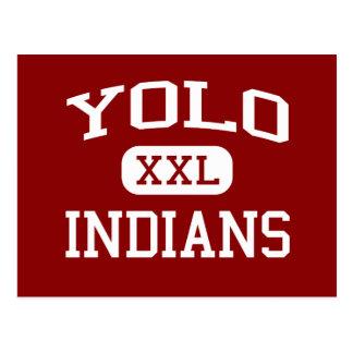 Yolo - indios - continuación - Sacramento del Tarjeta Postal