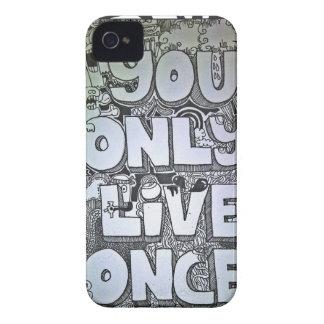 yolo iPhone 4 Case-Mate cobertura