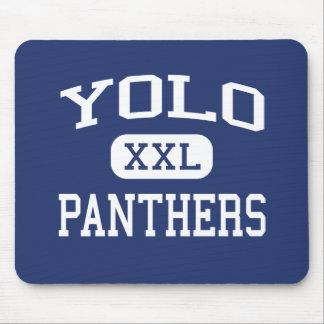 Yolo - Panthers - Junior - Newman California Mouse Mat