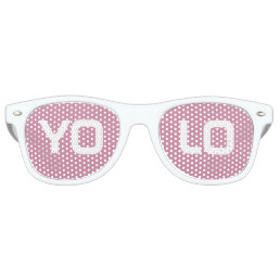 YOLO RETRO SUNGLASSES