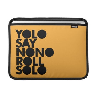 YOLO Roll Solo Filled MacBook Sleeves