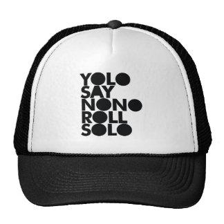YOLO Roll Solo Filled Trucker Hat
