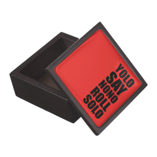 YOLO Roll Solo Jewelry Box