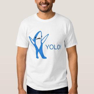 Yolo shark tee shirt
