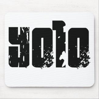 Yolo -- T-Shirt Mousepads