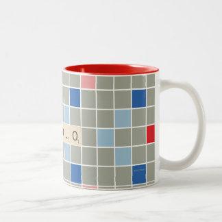 YOLO Two-Tone COFFEE MUG