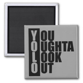 YOLO Vertical Box 2 Inch Square Magnet