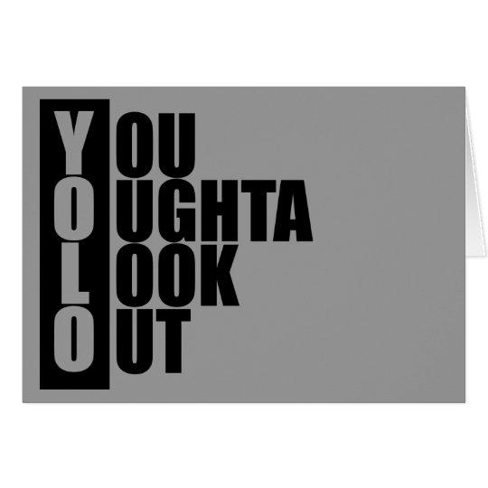 YOLO Vertical Box Card