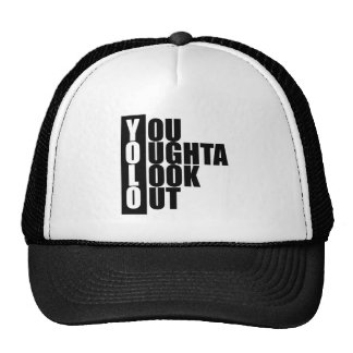 YOLO Vertical Box Hat
