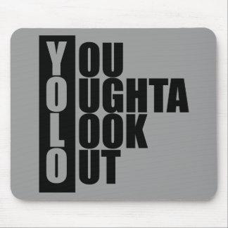 YOLO Vertical Box Mousepad