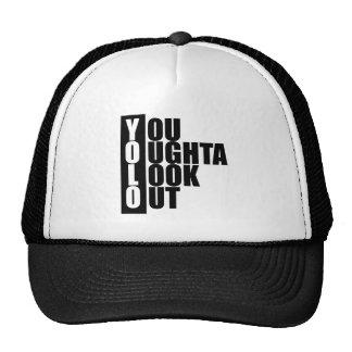 YOLO Vertical Box Trucker Hat
