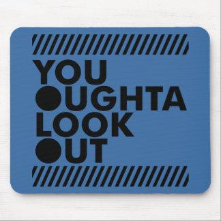 YOLO w/ Caution Mousepads