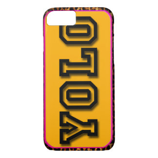 YOLO YELL IT LOUD iPhone 8/7 CASE