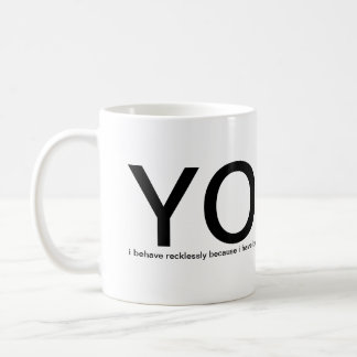 YOLO - You Only Live Once please help me Mugs