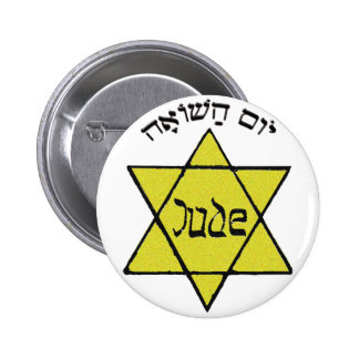 Yom HaShoah Pin Redondo 5 Cm