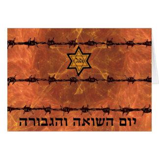 Yom HaShoah Tarjetas