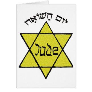 Yom Hashoah Tarjeta De Felicitación