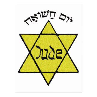 Yom Hashoah Tarjeta Postal