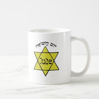 Yom HaShoah Taza Básica Blanca