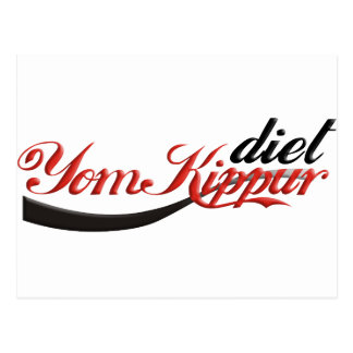 Yom Kippur Diet Postcard