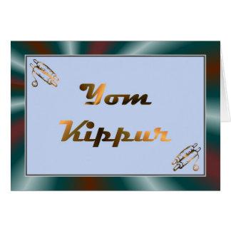 Yom Kippur Jewish Holiday Fasting Judaism Holy Day Cards