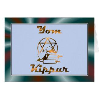 Yom Kippur Jewish Holiday Fasting Judaism Holy Day Greeting Cards