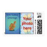 Yom Kippur Jewish holiday photo custom Postage Stamp