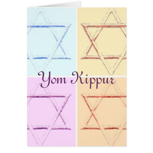 Yom Kipur Felicitación