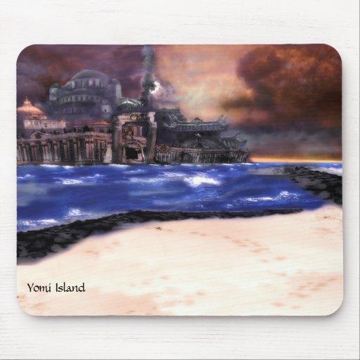 Yomi Island Mouse Pad