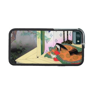 Yomogyu The Tale of Genji japanese lady scenery iPhone 5/5S Covers