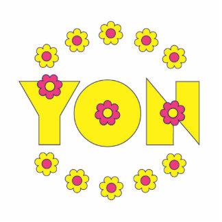 Yon en el amarillo de Flores Escultura Fotografica