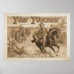 YON YONSON Play Act VAUDEVILLE Poster