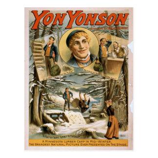 Yon Yonson Postcard