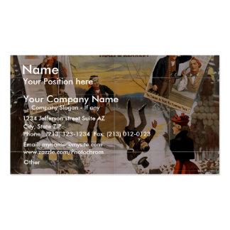 Yon Yonson, 'Yo Batter Taake Tumble To Yourself' Business Card Templates